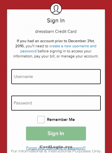 Dressbarn Credit Card Login Guide How To Apply